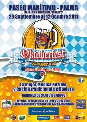 Poster Oktoberfest i Palma de Mallorca 2011