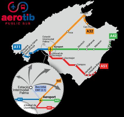 aerotib – Nya flygbussar på Mallorca